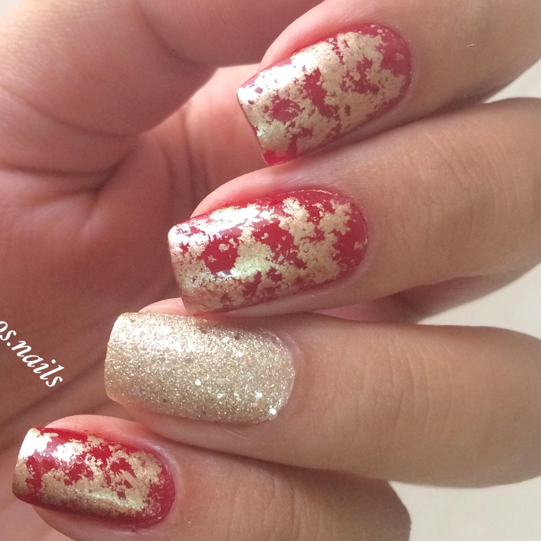 lazy girl nail art