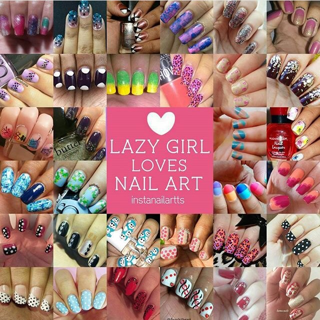 lazy girls love nail art