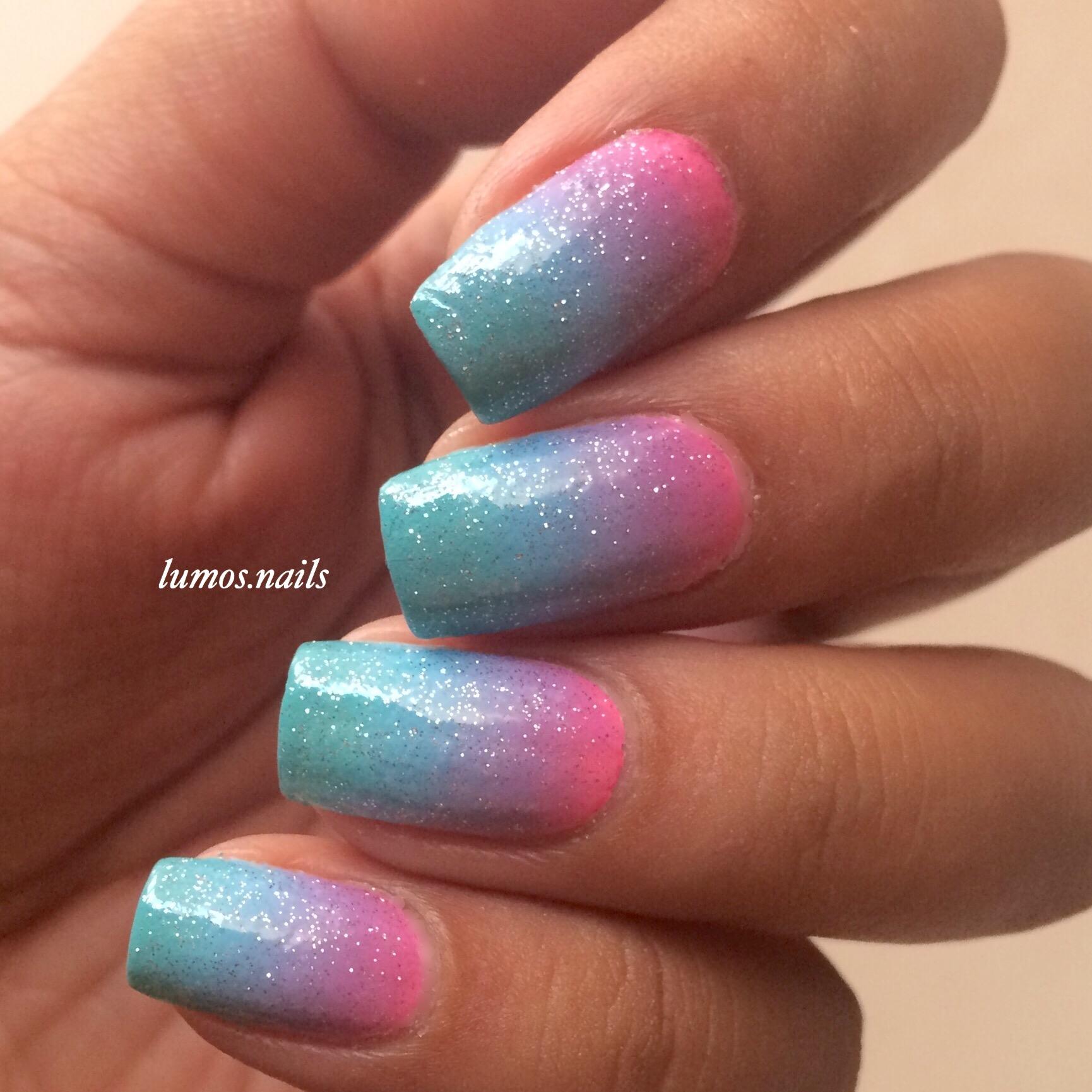 gradient mani